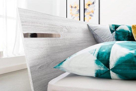 Beter Bed Arizona Houten Bedframe - 140x200 cm - Wit eiken - Beter Bed
