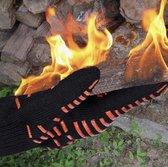 Hittebestendige Handschoenen - BBQ Handschoenen - Veiligheidshandschoenen -  Deyan Fiber - Kevlar -  tot 800 graden - EN407 certificatie - Oven - Keuken - Handschoenen - Koken