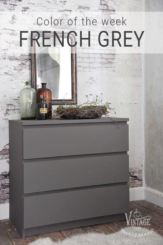 Krijtverf French Grey Matt Furniture, Gray Furniture Paint