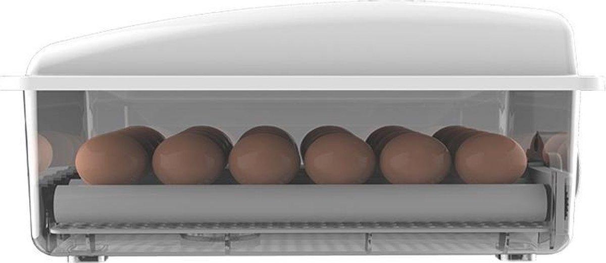 Broedmachine met keersysteem, 24 eieren