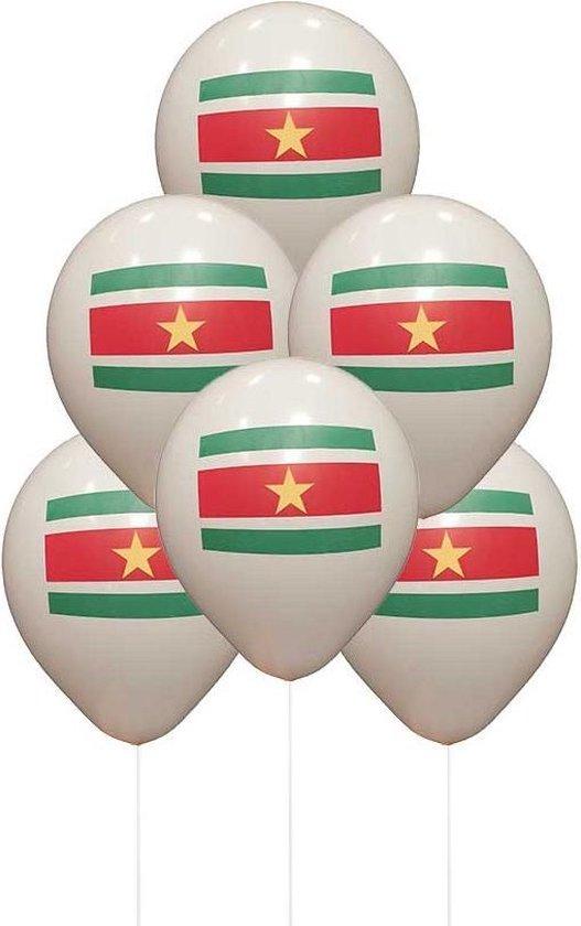 Party Colors Surinaamse Ballonnen 10 stuks