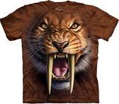 The Mountain KIDS T-shirt Sabertooth Tiger Unisex T-shirt M