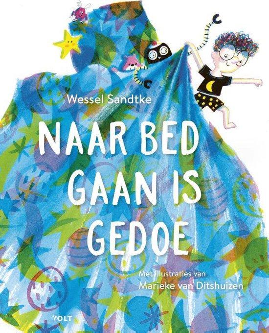 Boek cover Naar bed gaan is gedoe van Wessel Sandtke (Hardcover)