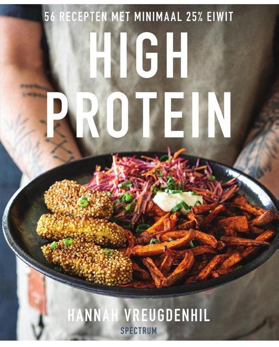 Boek cover High protein van Hannah Vreugdenhil (Onbekend)