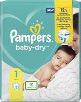 Pampers Baby Dry Newborn maat 1 - 21 stuks