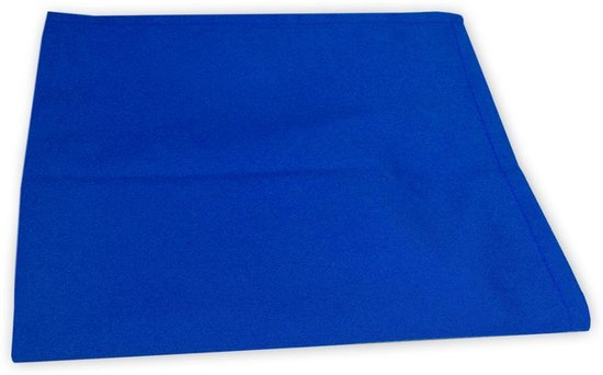The One Theedoeken Royal Blue 50x70cm 5 stuks