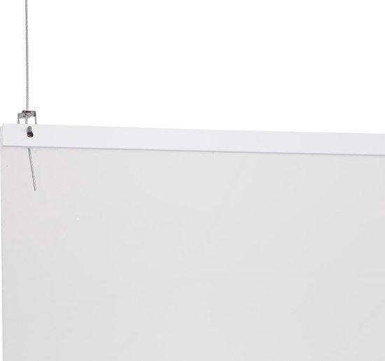 STAS - Plexiglas Scherm - Hangend - 100x100 cm - Preventiescherm - Spatscherm Plexiglas - Kuchscherm - Baliescherm