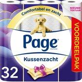 Page toiletpapier - Kussenzacht - 32 rollen