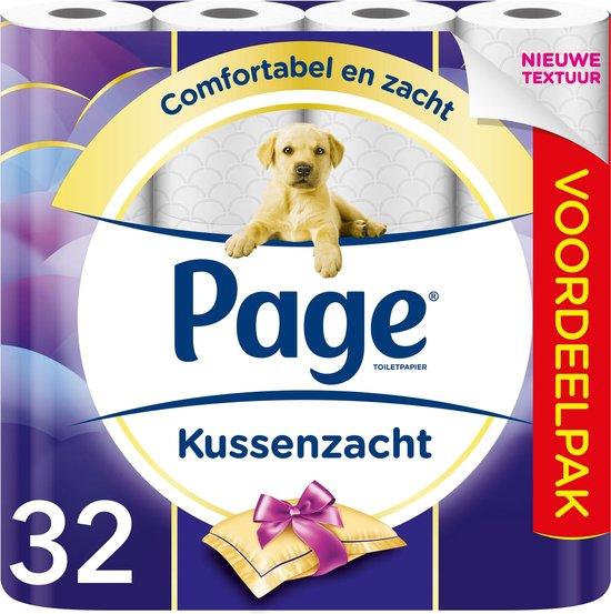 Page Kussenzacht 3-laags - Toiletpapier - 32 -rol