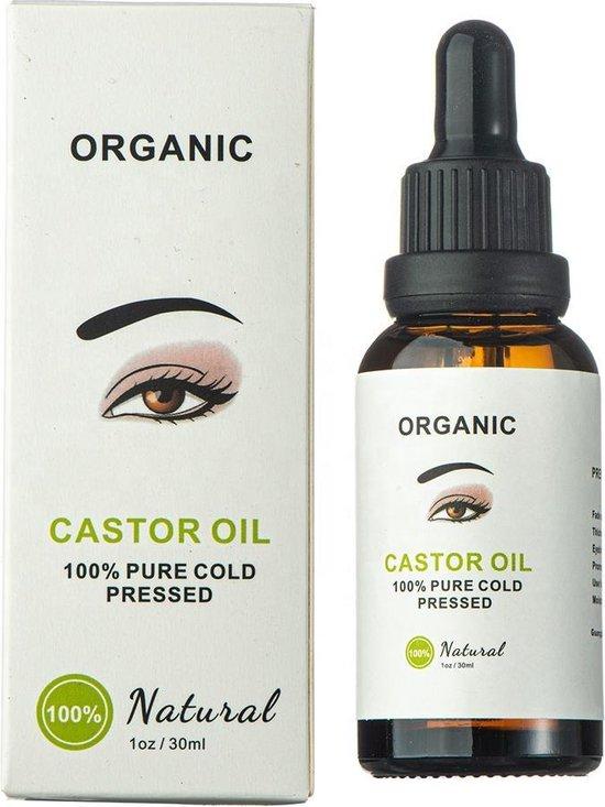 Wimper Serum Castor Olie Inclusief Borstels |100% Natuurlijk Wimpergroei | Castor Oil Eyelash Serum|30ml