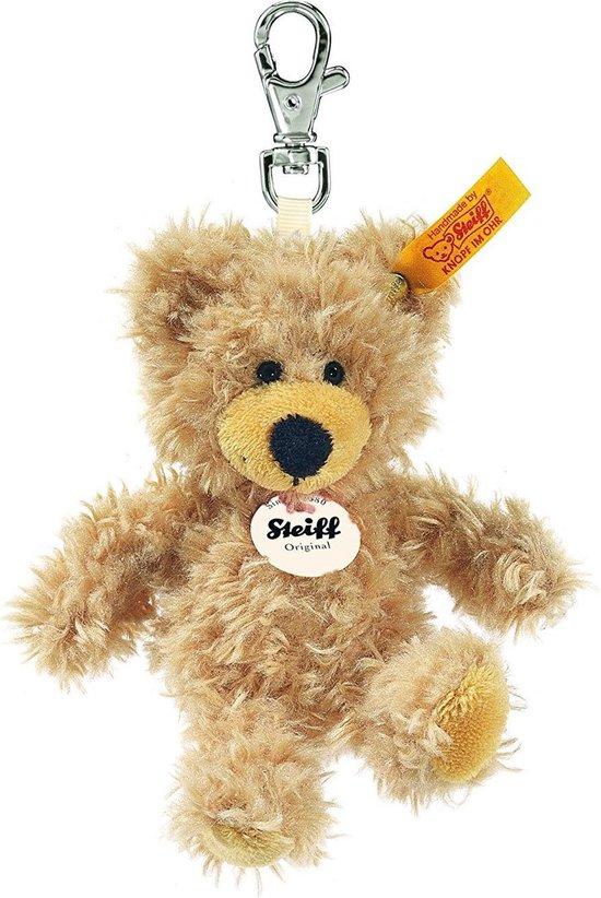 Thumbnail van een extra afbeelding van het spel Steiff sleutelhanger Charly teddybeer 12 cm. EAN 111884