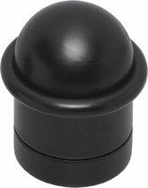 Intersteel Deurstop - met ring - mat zwart - 0023.442000