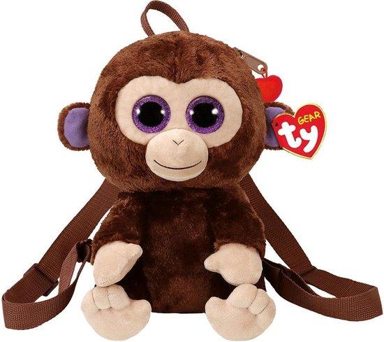 TY Fashion -  Coconut Monkey - 24 cm - Rugzak