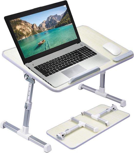 Verwonderend bol.com | Bedtafel – bedtafeltje - verstelbaar- laptop - voor op ZQ-07