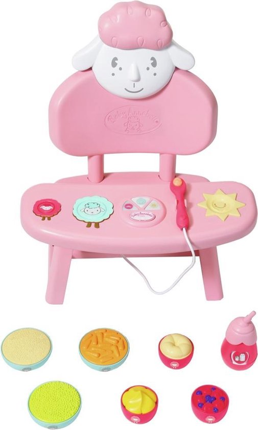 Baby Annabell Lunchtafel – Poppenmeubel
