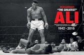 Muhammad Ali en Sonny Liston boksen poster 61x91.5cm.