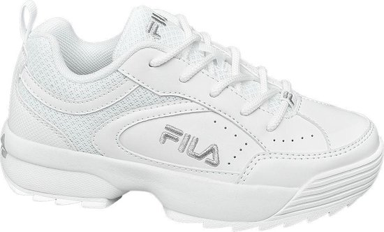Fila Kinderen Witte Chunky Sneaker Maat 33