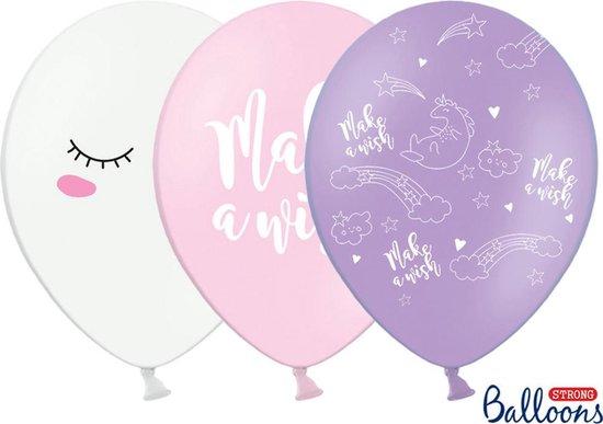 Unicorn Ballonnen 30cm 50 stuks