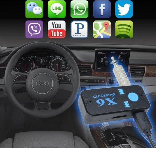Auto Bluetooth Adapter - Ontvanger & Zender - 3 in 1 - Met Bediening en extra...