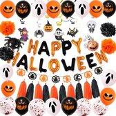 GBG Halloween Set Spooky - Halloween Decoratie – Feestversiering - Papieren Confetti – Oranje - Zwart - Wit - Feest