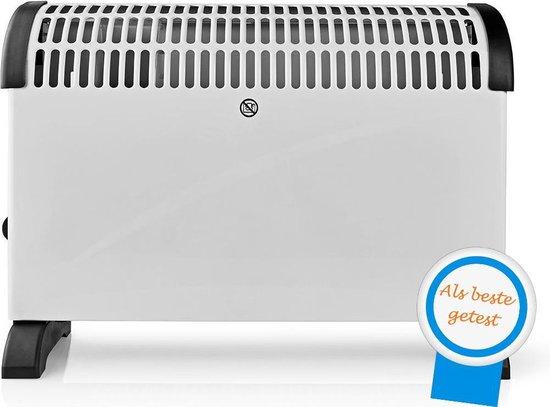 BEST GETEST: Elektrische Convector Kachel 750 1250 2000 Watt - Verstelbare Thermostaat