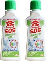 K2r S.O.S Gras-make up ultra effectief 2x50ml