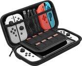 Nintendo Switch OLED Case - Nintedo Switch OLED Accessoires Zwart Hoesje