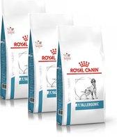 Royal Canin Veterinary Diet Anallergenic - Hondenvoer - 3 x 3 kg