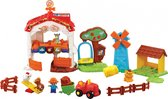 VTech Zoef Zoef Dieren - Vrolijke Dierenboerderij - Speelfigurenset - Interactief Babyspeelgoed