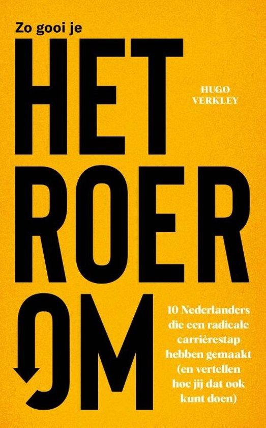 Boek cover Het roer om van Hugo Verkley (Hardcover)