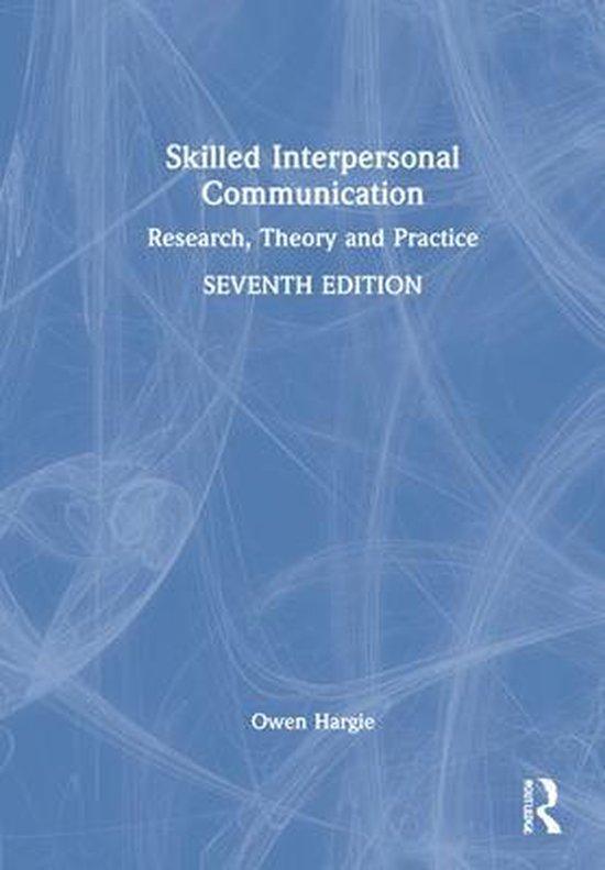 Boek cover Skilled Interpersonal Communication van Owen Hargie (Hardcover)
