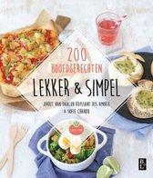 Boek cover Lekker & Simpel - 200 Hoofdgerechten van Jorrit van Daalen Buissant Des A (Paperback)