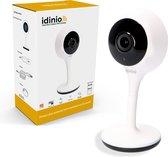 Idinio Slimme WiFi camera IP20 voor Binnen met App & Bewegingsmelder - Wit