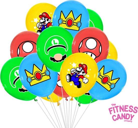 Super Mario Ballonnen - Set van 6
