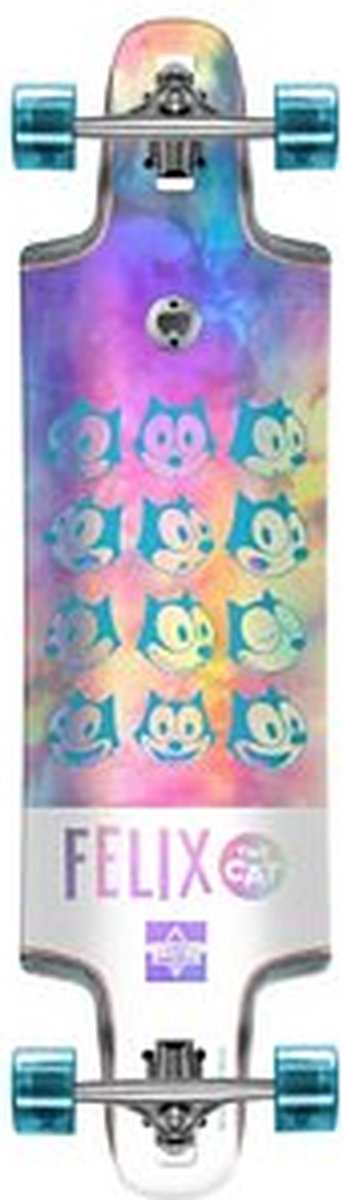 Dusters Felix chrome droptrought 36'' Holographic