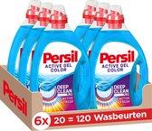 Persil Color Gel Vloeibaar Wasmiddel - Voordeelverpakking - 6 x 20 wasbeurten