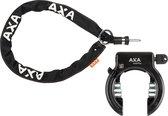 AXA Solid Plus Fietsslot- ART2 - inclusief 140cm insteekketting – Ringslot - Zwart