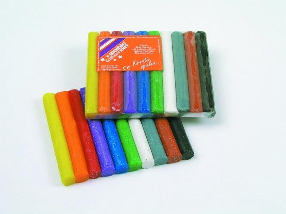 Fantasie klei 15 gram 10 kleuren
