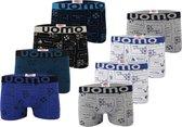 AltinModa® 8 pack jongens ondergoed - Voordelige jongens boxershort - katoenen onderbroek 152/158 1685