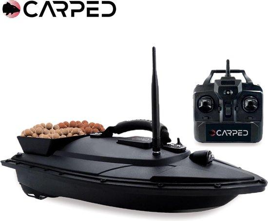 CARPED® Voerboot - 1KG Voercapaciteit - 500 Meter Bereik - 2 Accu's - Karper Vissen Baitboat - Hengelsport Materiaal - Visspullen Accesoires