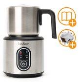 CuisiNoon® Premium Melkopschuimer Multifunctioneel - Barista Aeroccino - Incl. 16 sjablonen & E-book