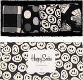 Happy Socks Black & white giftbox - Maat 41-46