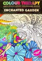 Kleurboek ''Betoverde tuin'' - Kleurboek voor volwassen - Colour therapy - A4 Kleurboek voor volwassen - Tekenen - Stiften - Kleurboek voor volwassenen - Anti-stress kleurboek