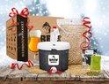 Brew Monkey Basis Tripel Kerstpakket - Bierbrouwpakket - Inclusief Thermometer - Zelf Bier Brouwen - Origineel Relatiegeschenk