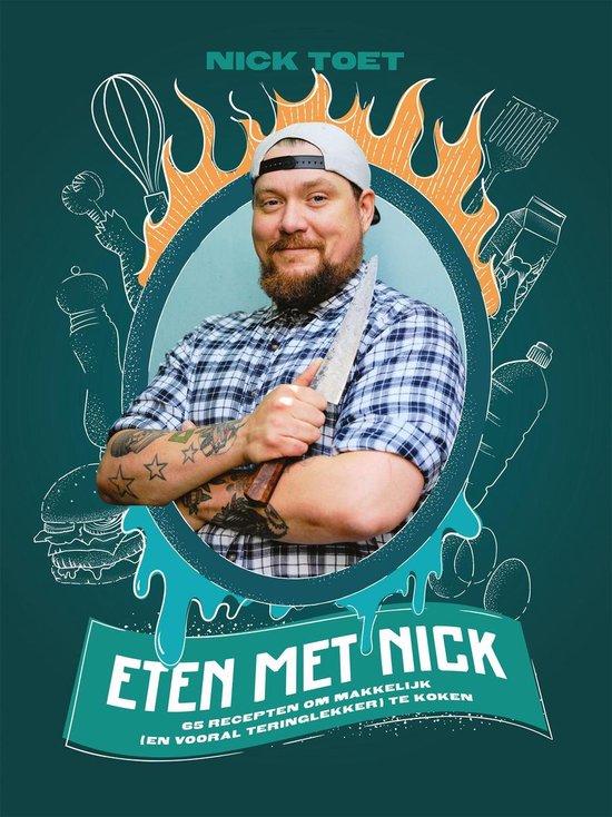 Boek cover Eten met Nick van Nick Toet (Onbekend)