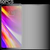 Let op type!! 50 stuks 0 26 mm 9H 2.5D getemperd glas Film voor LG G7 ThinQ