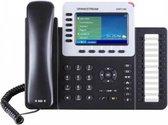 Grandstream Networks GXP-2160 - VoIP telefoon - Zwart