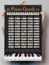 Poster Piano akkoorden
