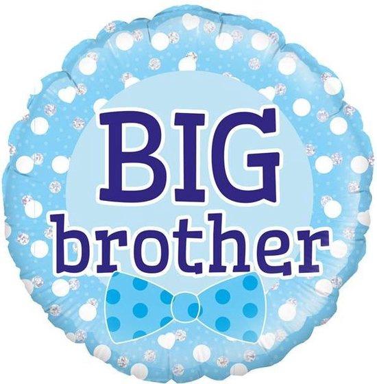 Folie ballon big brother holografisch 18 inch (45cm)
