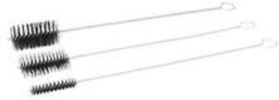 Staaldraadborstel op draad diameter 20 mm - 100 cm